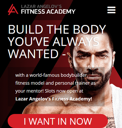 Website by Lazar Angelov's Fitness Academy