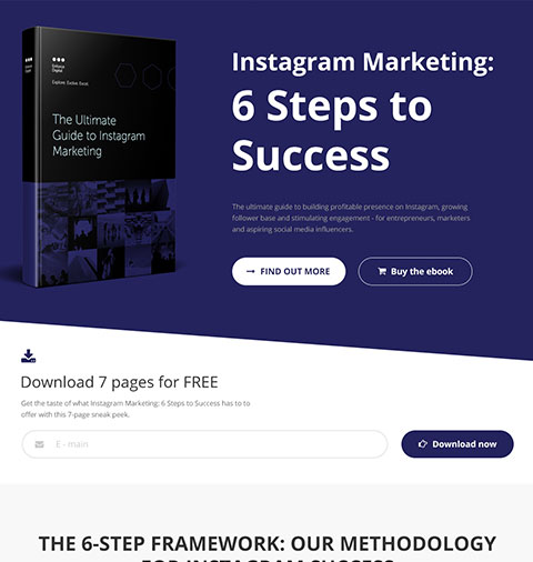 Website by Insta Steps to Success | Instagram Marketing Book